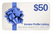 Inmate Gift Card