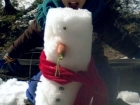 Little Sis Snowman Friendly 2013