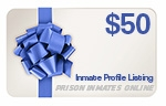 Purchase a gift card for an inmate profile.