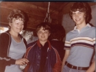 With Mom and Youngest Brother, 1978